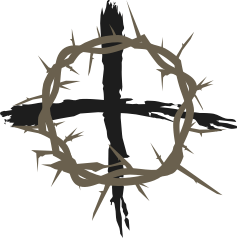 239x239 Clipart Cross And Thorns Icon, Crown Of Thorns Hung Around
