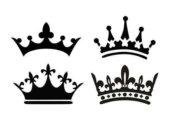 570x435 Crown Svg Princess Crown Svg King Crown Svg Black And Svg Files