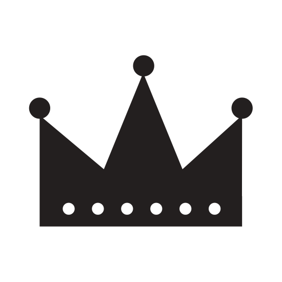550x550 List Of Synonyms And Antonyms Of The Word King Crown Silhouette