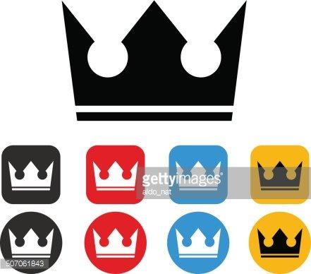 441x388 Crown Silhouette Premium Clipart