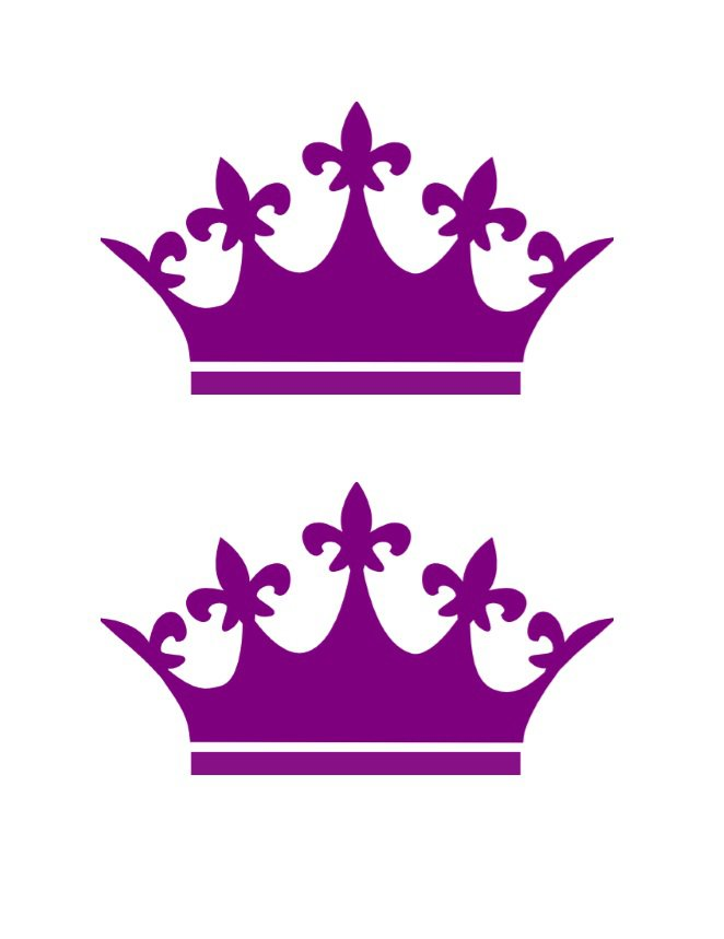 Crown Silhouette Free Vector