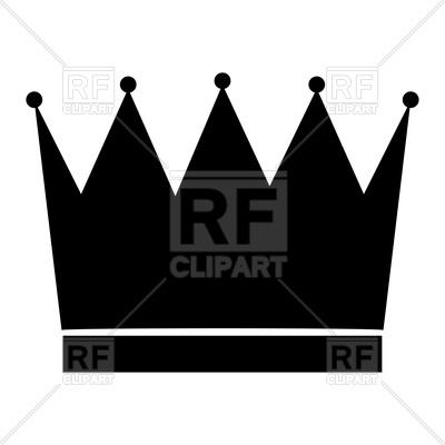 400x400 Crown Icon Royalty Free Vector Clip Art Image