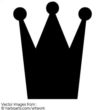335x355 Download Small Crown Silhoutte