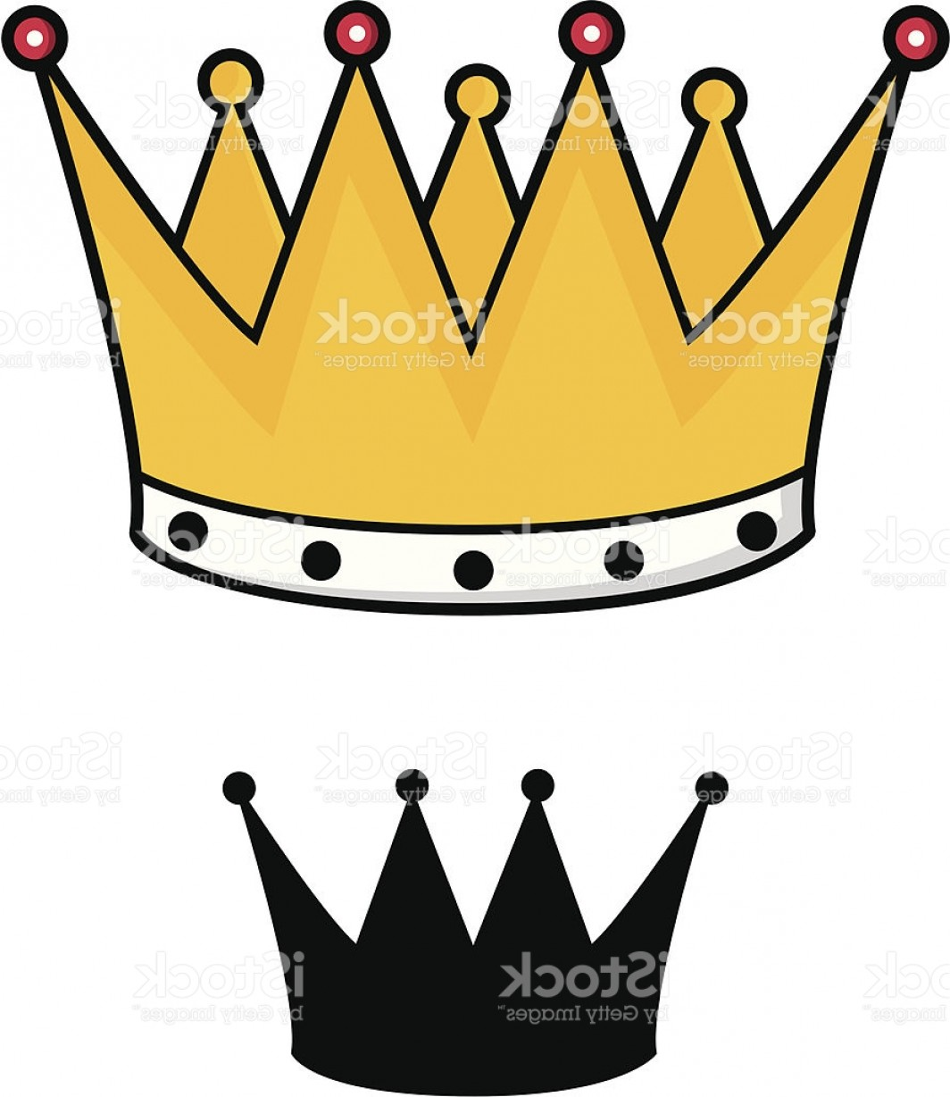 1064x1228 Gold Crown Silhouette Vector Shopatcloth