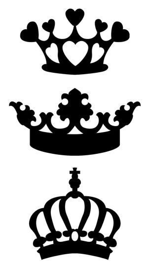 300x544 Stencil Mania Svg File, Crown And Filing