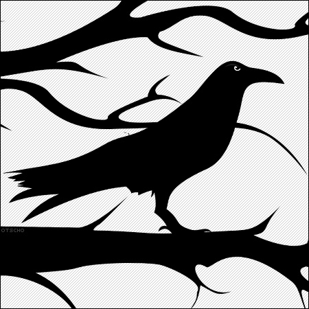 450x450 Crow Clipart Tree Silhouette