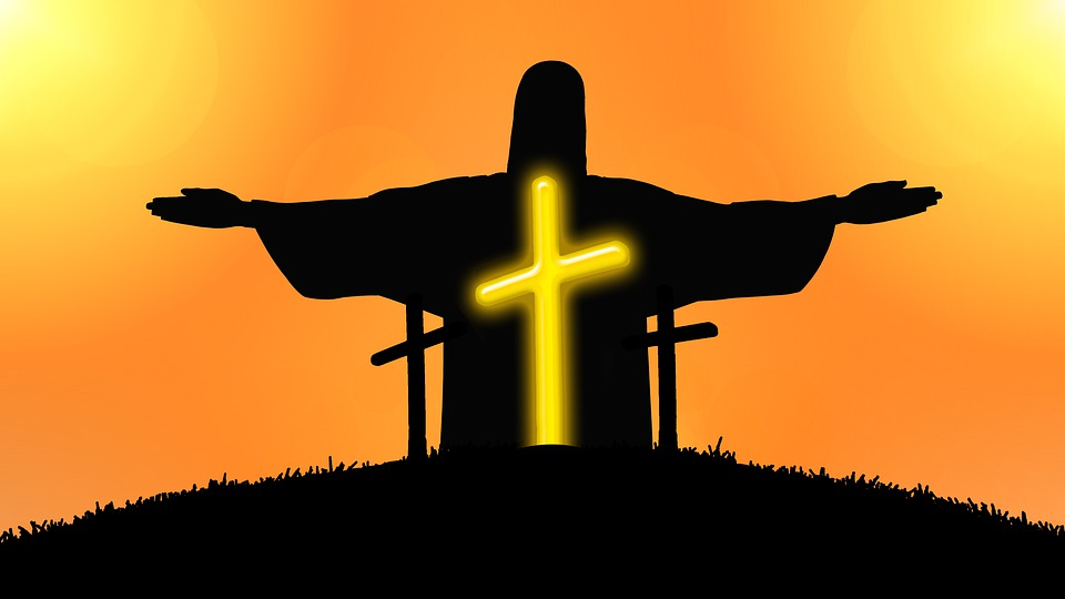960x540 Free Photo Sunset Sky Resurrection Jesus Easter Cross Clinic