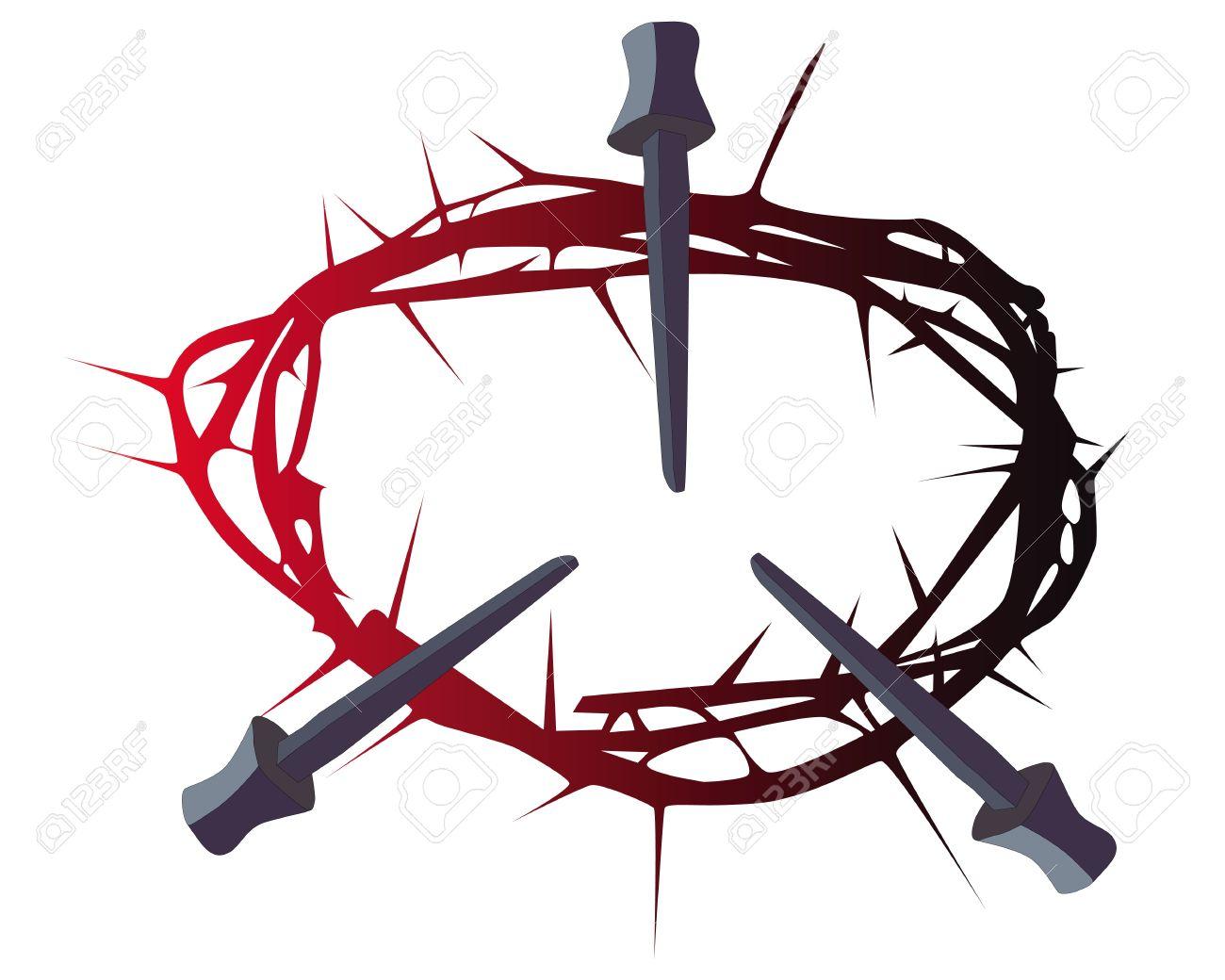 1300x1040 Nail Clipart Crucifixion