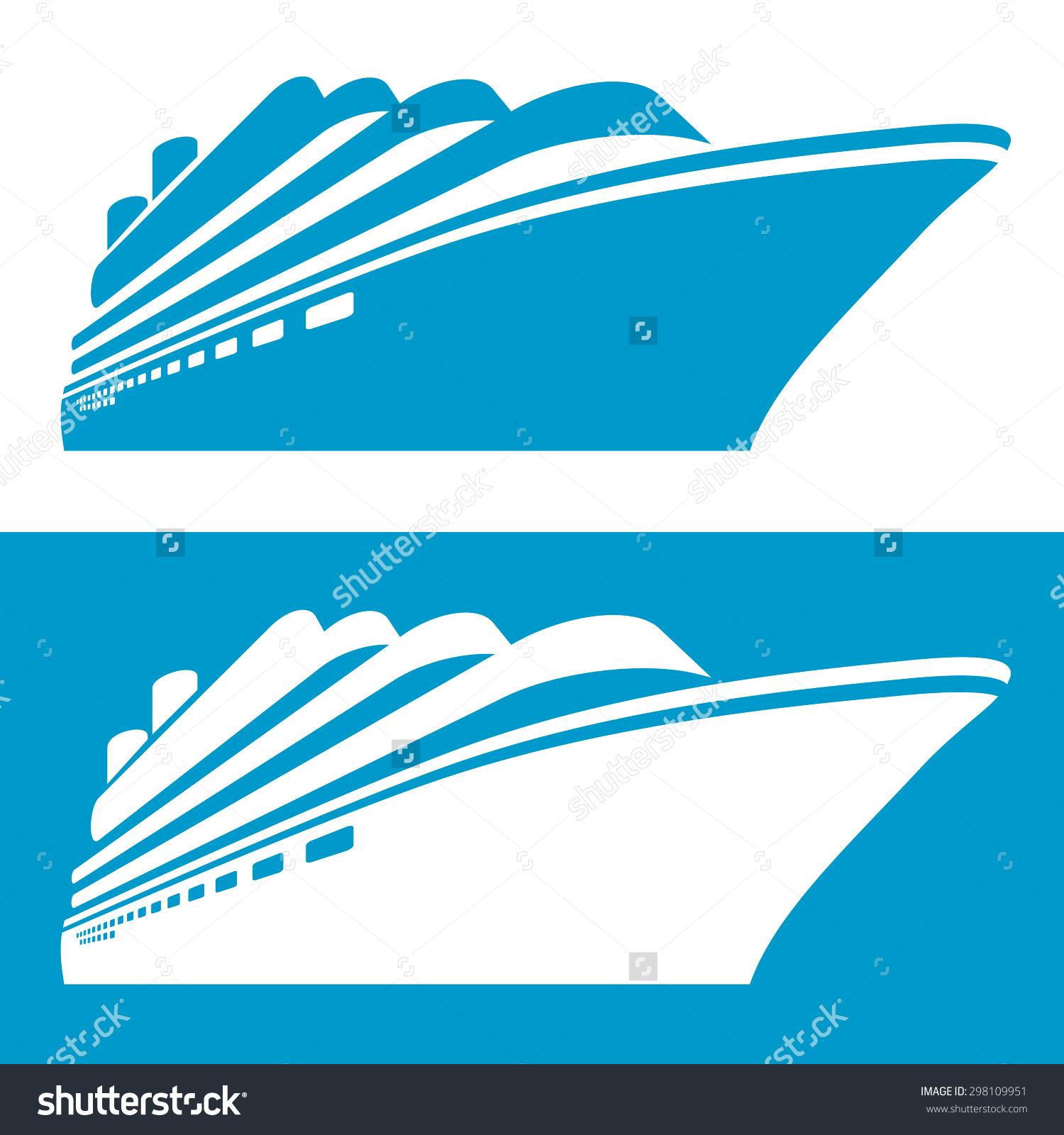 Cruise Ship Silhouette At Getdrawings Com Free For