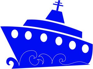 300x223 Cruise Ship Clipart Image
