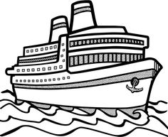 236x193 Dinner Cruise Black And White Clipart Collection