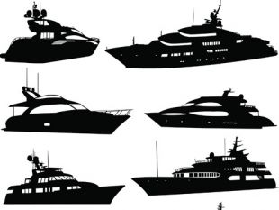 310x233 Yacht Silhouette Free Vectors Ui Download