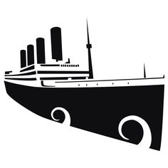 236x236 Clipart Black And White Cruise Ship