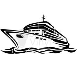 250x250 Cruise Ship Svg File