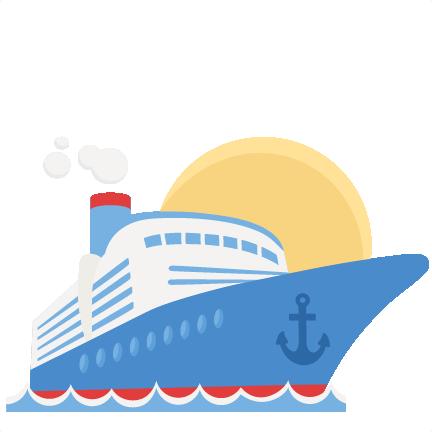 432x432 Cruise Ship Svg Scrapbook Cut File Cute Clipart Files