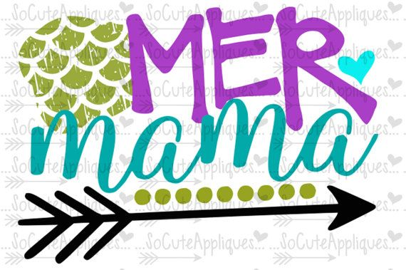 570x379 Mermaid Svg, Mer Mama, Mother Daughter Svg, Mermaid Cut File