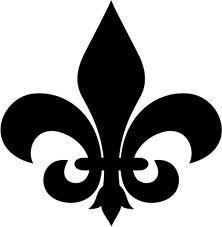 222x227 Fleur De Lis Template I Want To Make Cub Scout