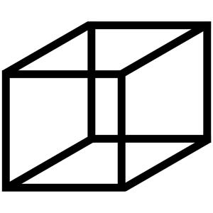 300x300 Necker Cube Clipart, Cliparts Of Necker Cube Free Download (Wmf