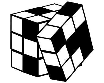 340x270 Cube Svg Etsy