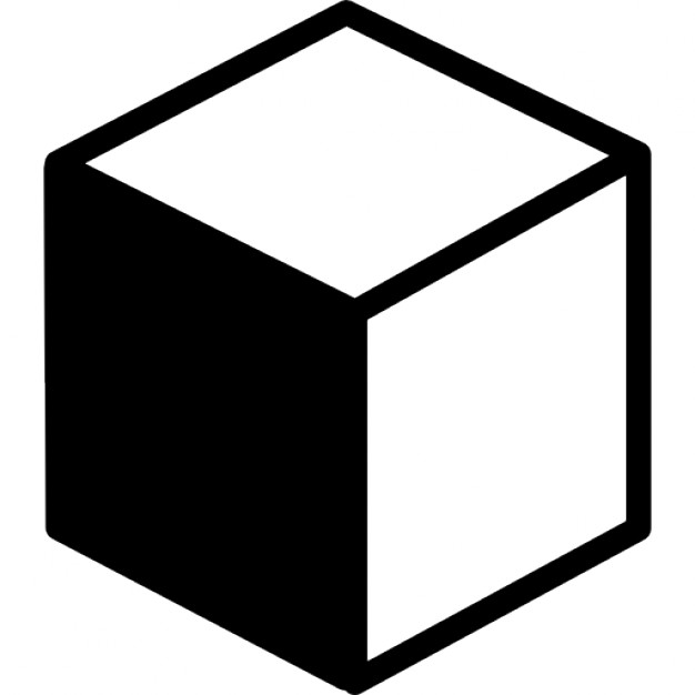 626x626 Cube Variant With Shadow Icons Free Download