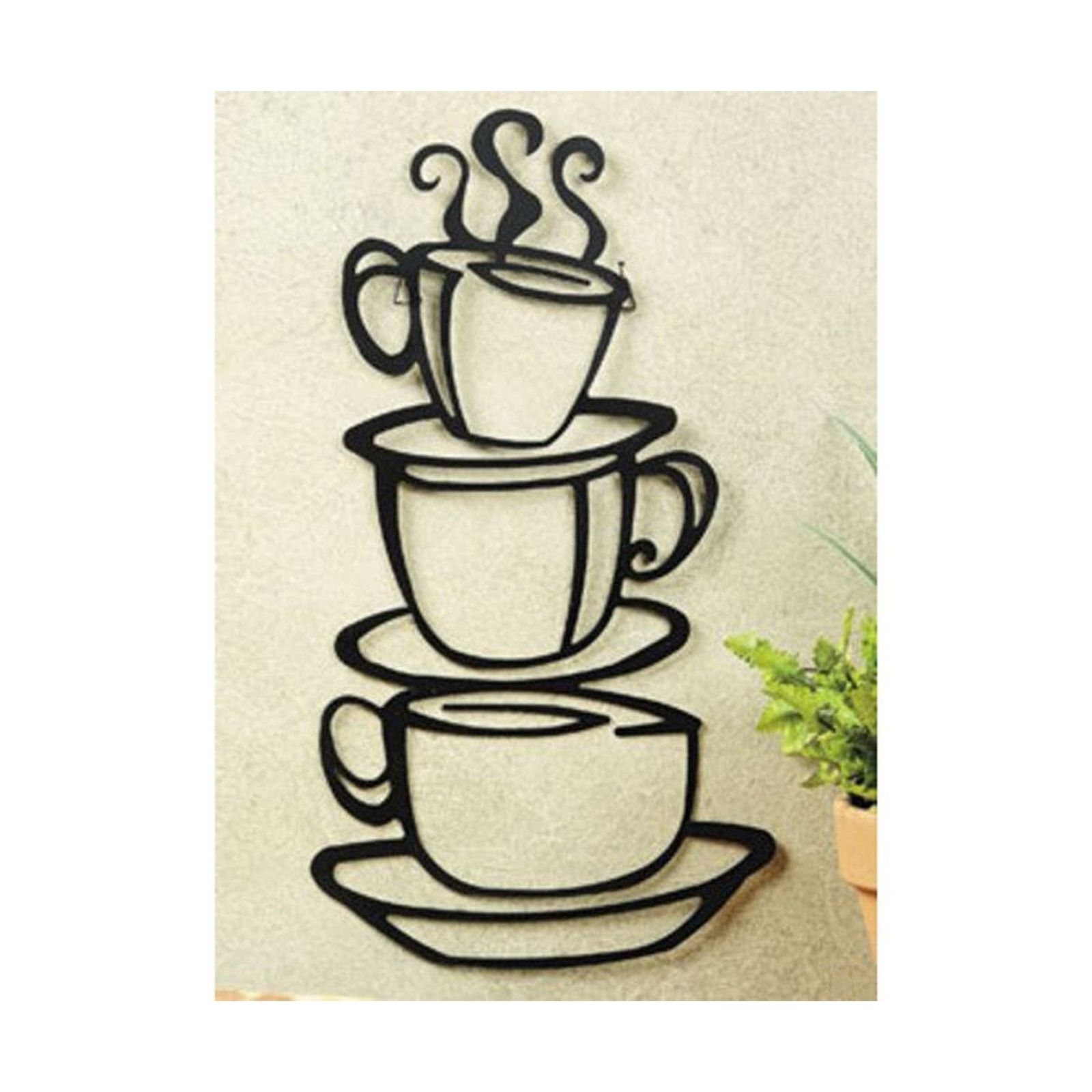1600x1600 Coffee Metal Wall Art Glamorous Coffee Cup Wall Art Duo Metal Wall