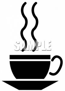 216x300 Silhouette Clipart Picture Of A Cup Of Coffee