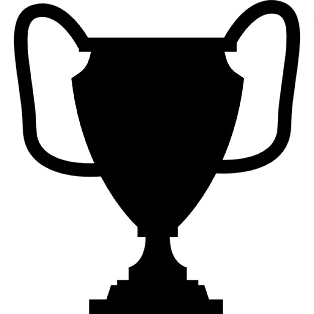 626x626 Trophy Cup Silhouette Icons Free Download