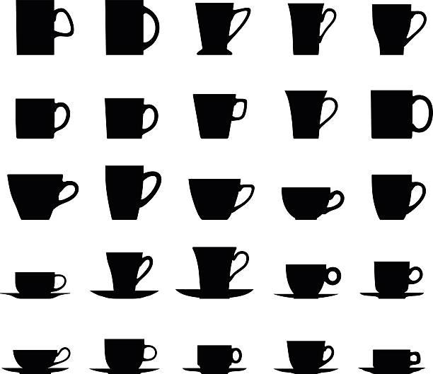 612x529 Clipart Tea Cup Silhouette