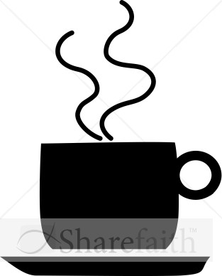 313x388 Coffee Clipart Silhouette Png