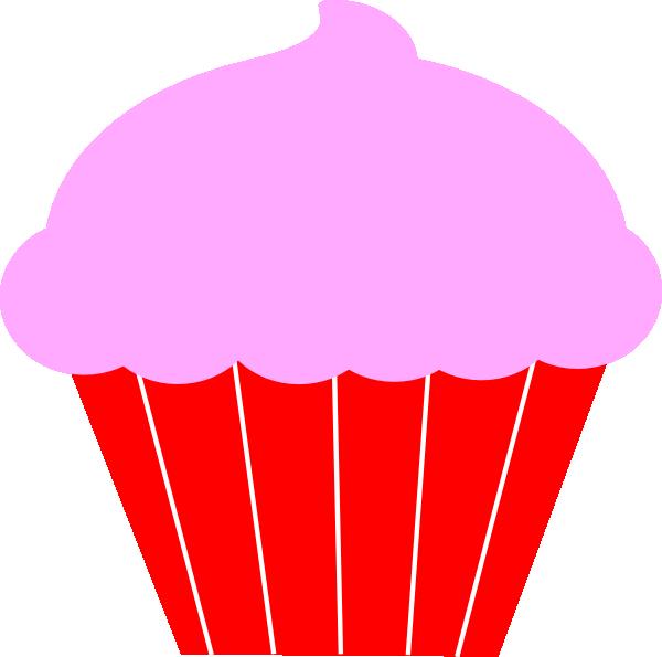 600x595 Cupcake Clip Art