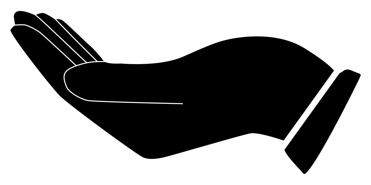1280x638 Filecupped Hand Silhouette.svg