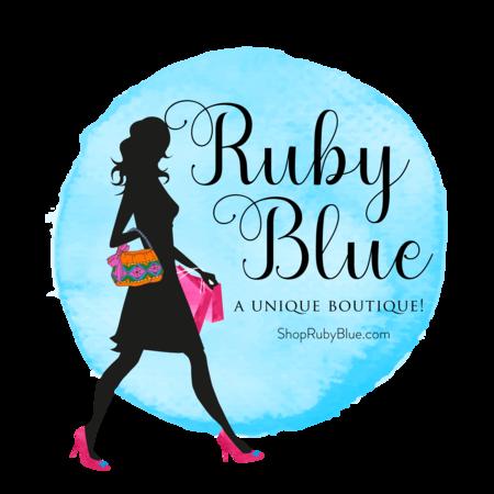 450x450 Curvy Collection Plus Sized Boutique Clothes Adorable Ruby Blue