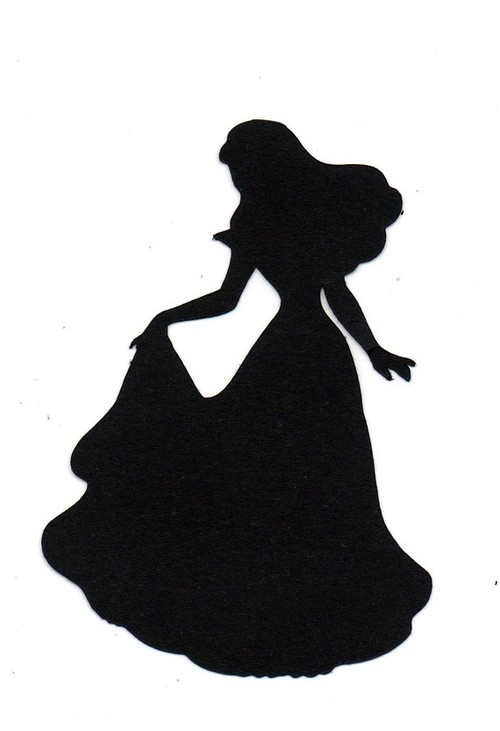 500x731 Silhouette Die Cut For Wedding Scrap By Simplymadescrapbooks
