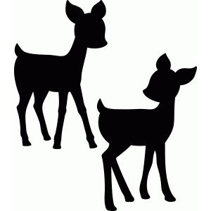 300x300 55 Best Silhouette Animals Images On Deer, Silhouettes