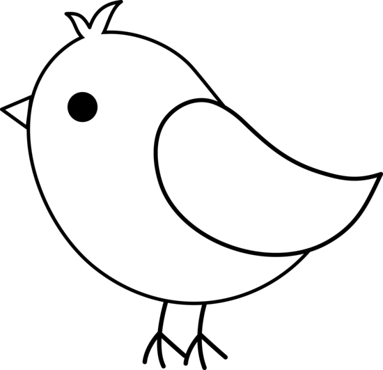 550x531 Vetor Png Simple Bird Drawing