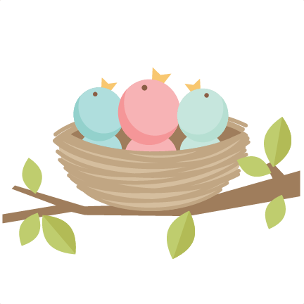 432x432 Baby Birds Svg Scrapbook Cut File Cute Clipart Files