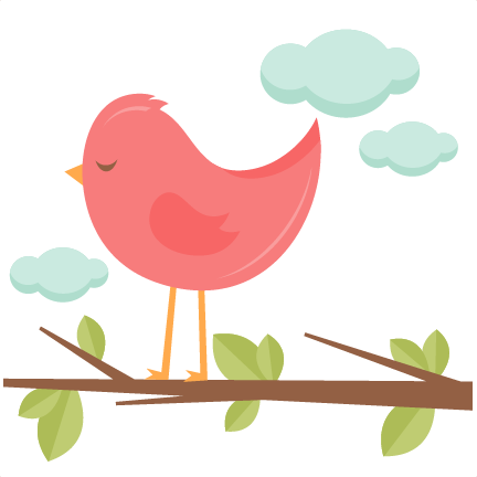 432x432 Bird In A Tree Svg Scrapbook Cut File Cute Clipart Files