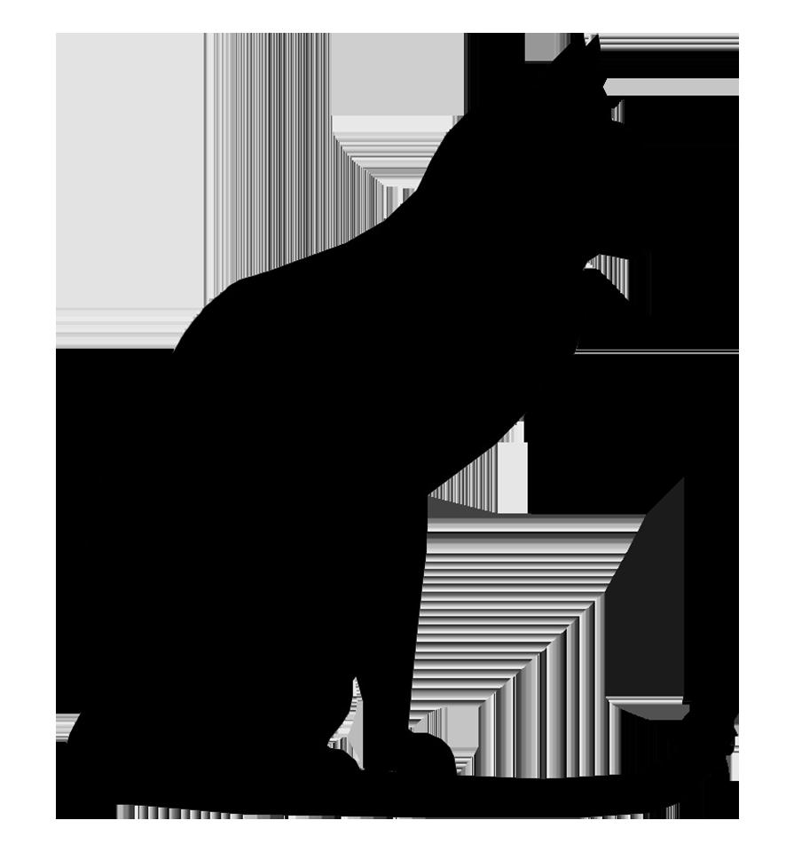 886x960 Clip Art Cat Outline Black Silouette Little Cute Cats