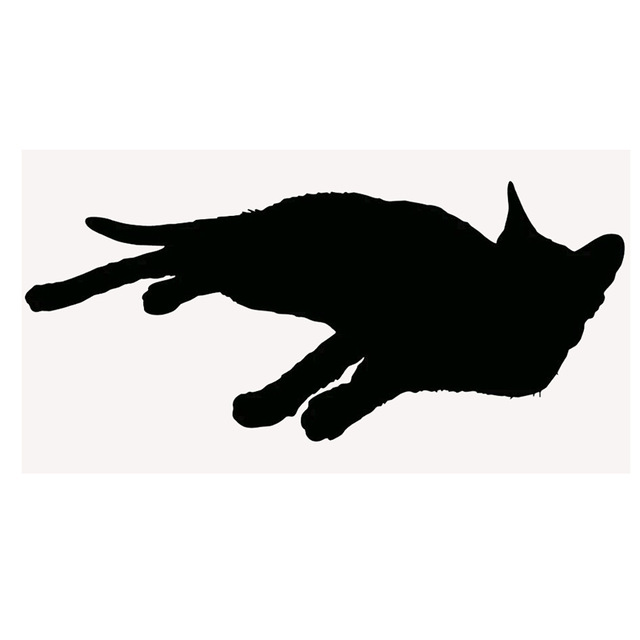 640x640 Wholesale 10pcslot 20pcslot Cute Cat Silhouette Kitten Lying