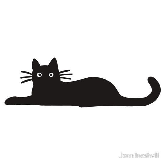 550x550 48 Best Cat Silhouettes Images On Black Cats, Black