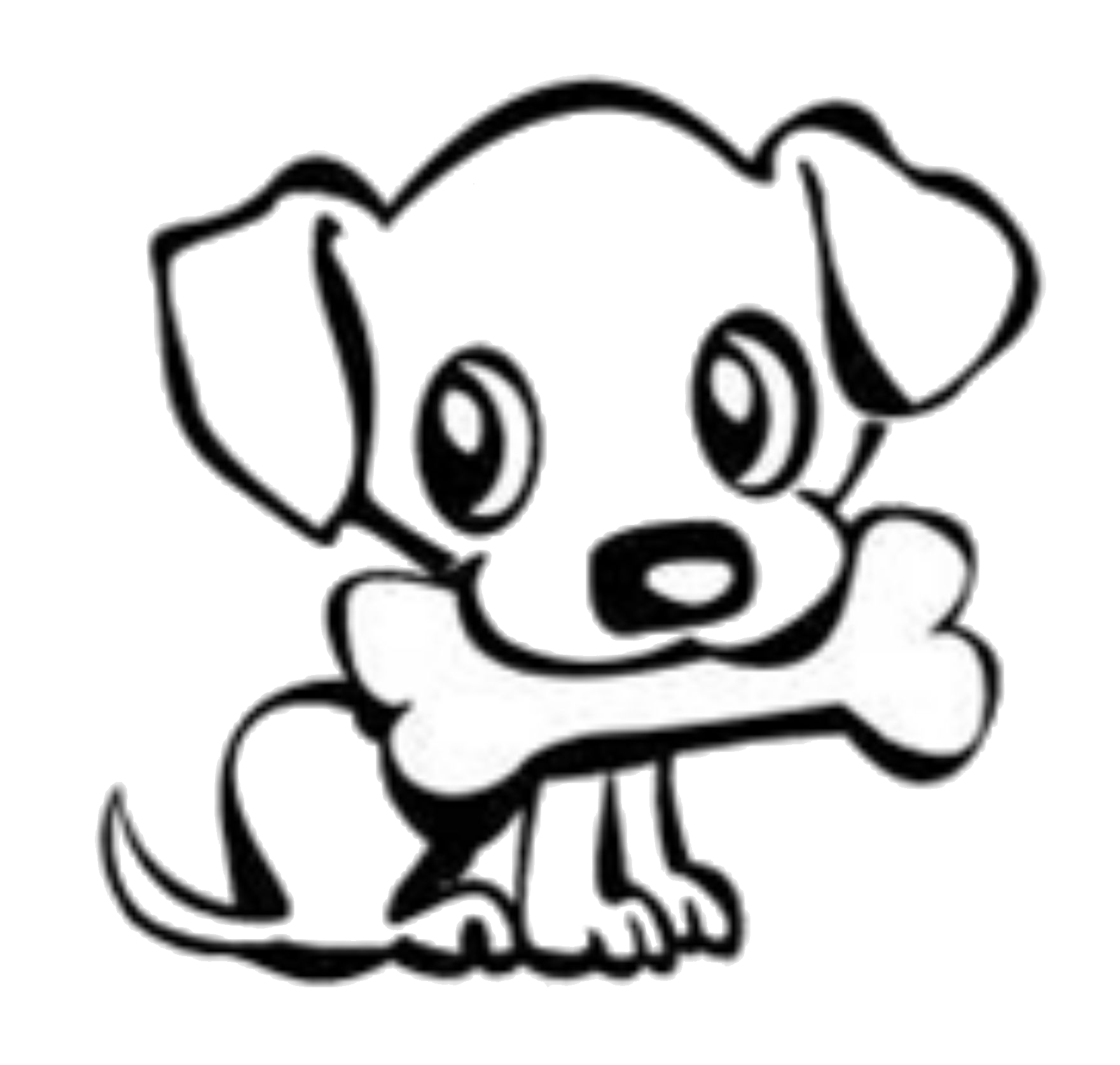 cute dog silhouette at getdrawings com free for personal use cute rh getdrawings com poppy clip art free puppy clipart black and white