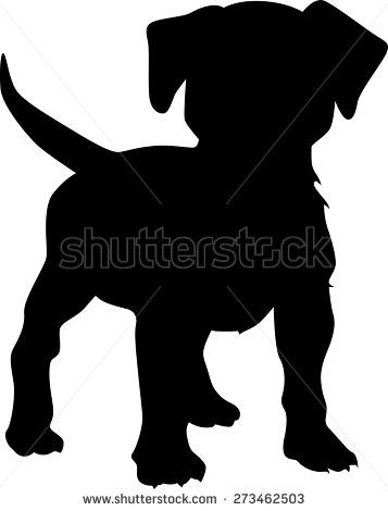 357x470 64 Best Motiv Hund Images On Doggies, Silhouettes