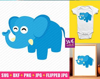 340x270 Baby Elephant Svg Etsy Studio