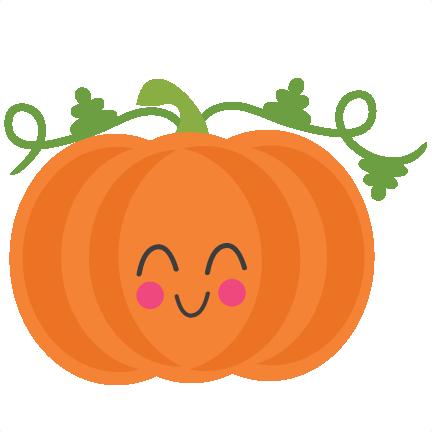 432x432 Cute Pumpkin Clipart Pumpkin Svg Scrapbook Cut File Cute Clipart
