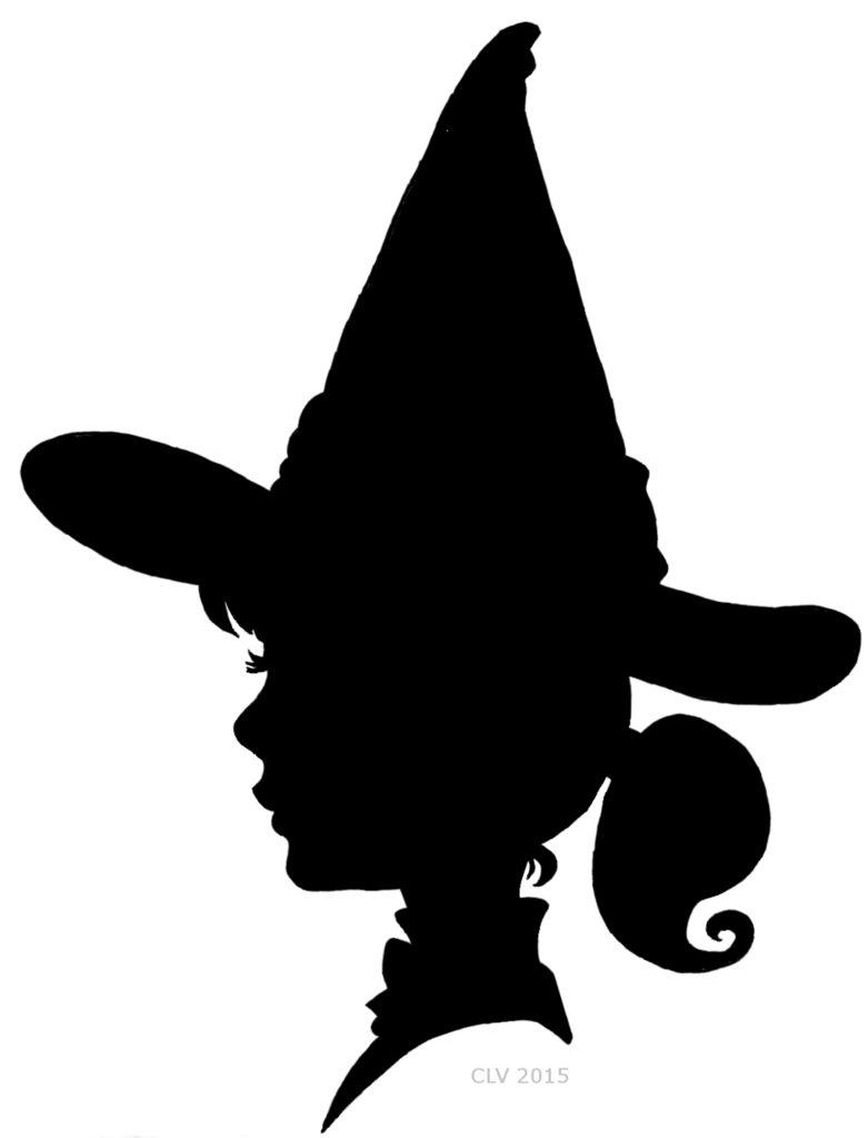 781x1023 Witch Silhouette By Crislavenuta