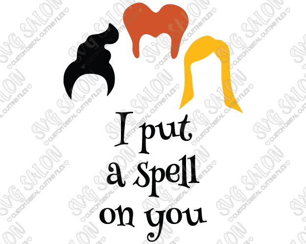 625x500 Halloween I Put A Spell You Hocus Pocus Custom Diy Iron