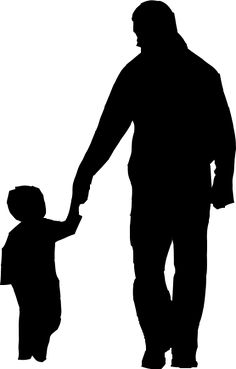 236x369 Father And Son Silhouette Auf Httpwww