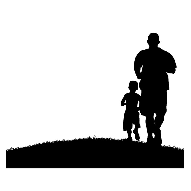 Dad Silhouette
