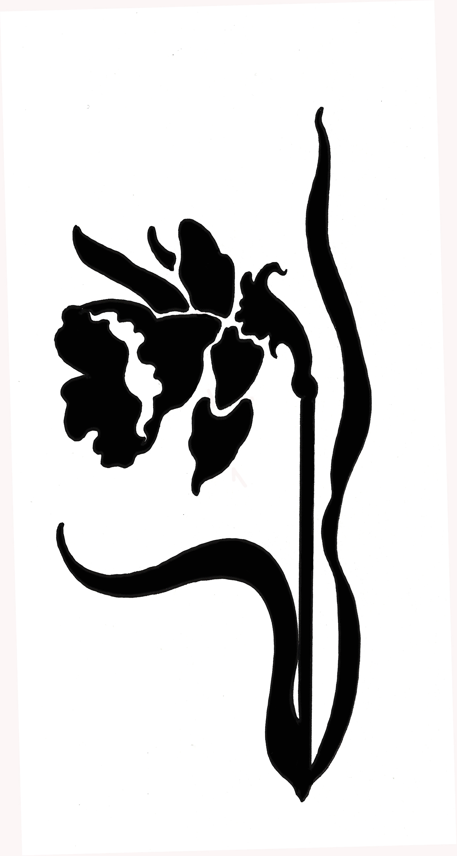1612x3019 Sign Of The Daffodil Logo Ian Beck
