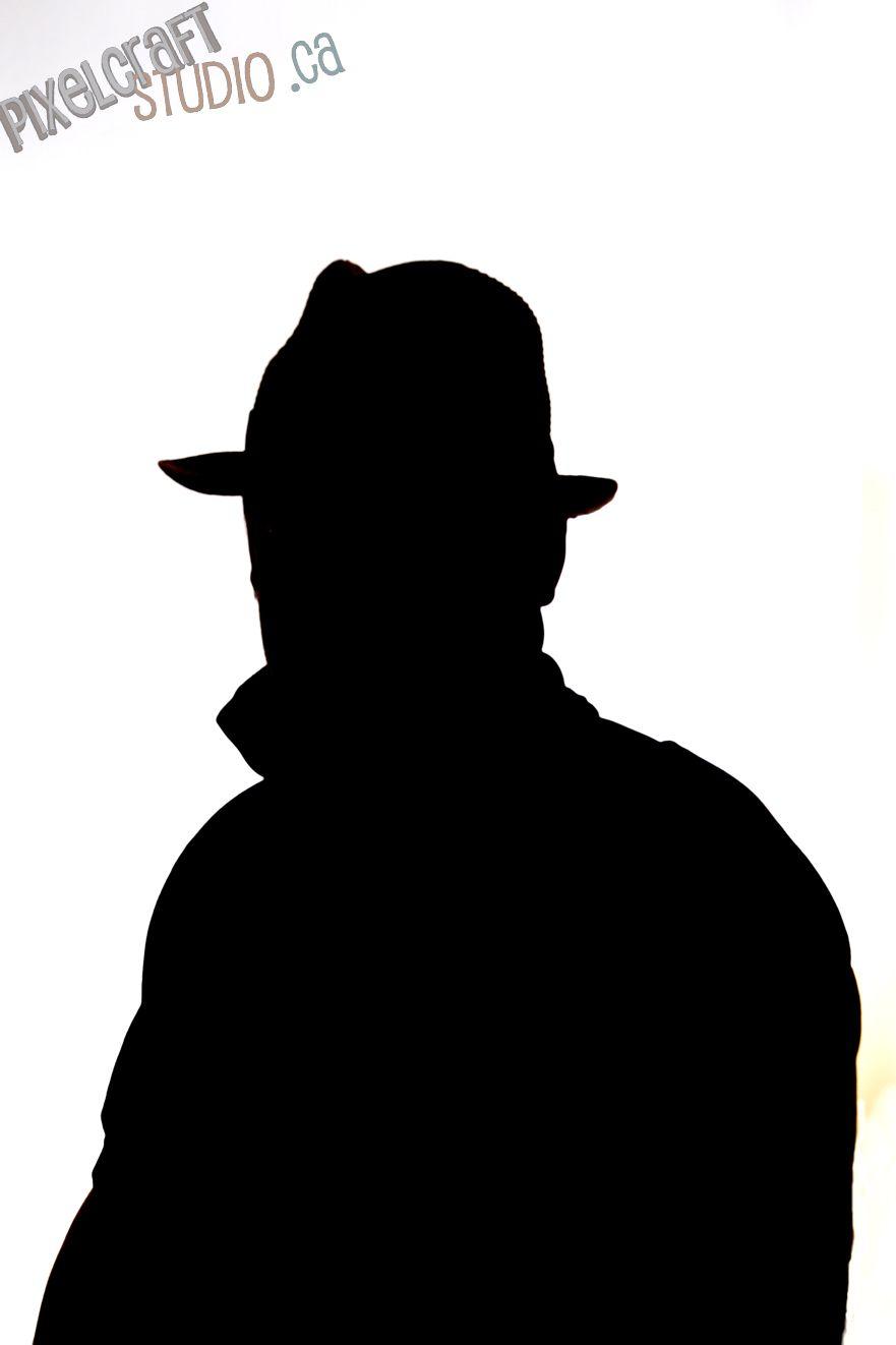 881x1322 Studio Silhouette Of A Man. Pixelcraft Studio Karma
